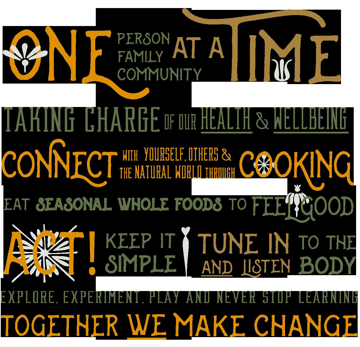 Holistic Kitchen Academy Manifesto